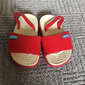 Native slide sandals
